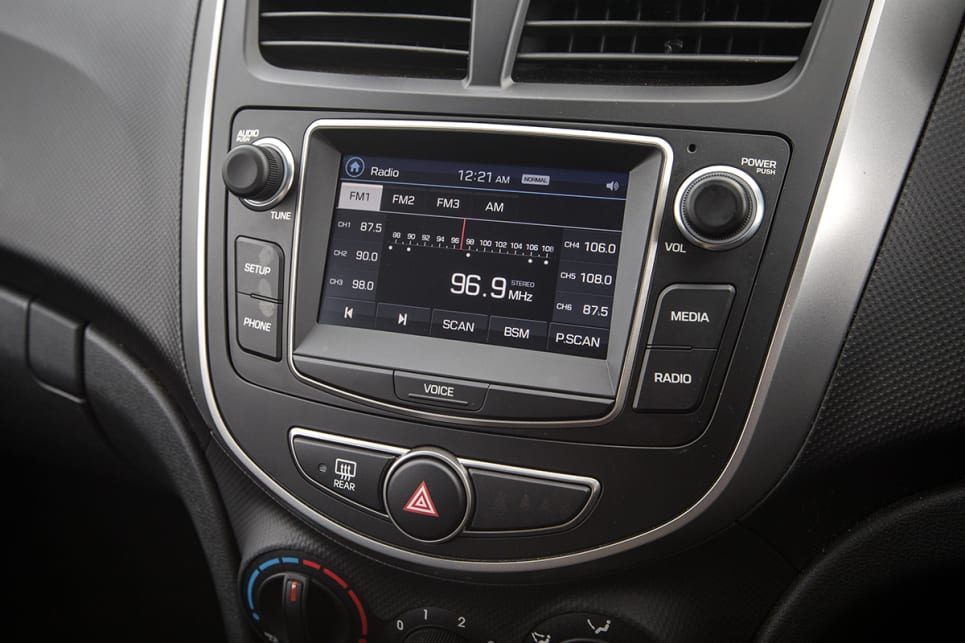 Hyundai was criticised for having a few odd elements including the tiny screen.