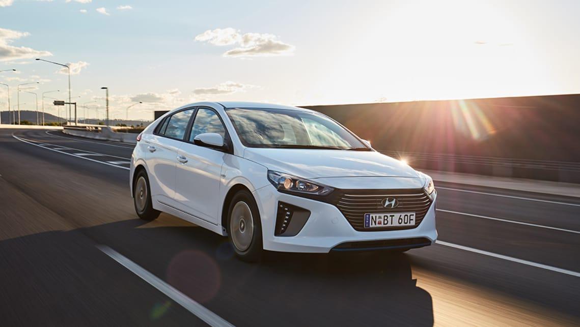 Hyundai Ioniq Hybrid 2019 Review Snapshot Carsguide