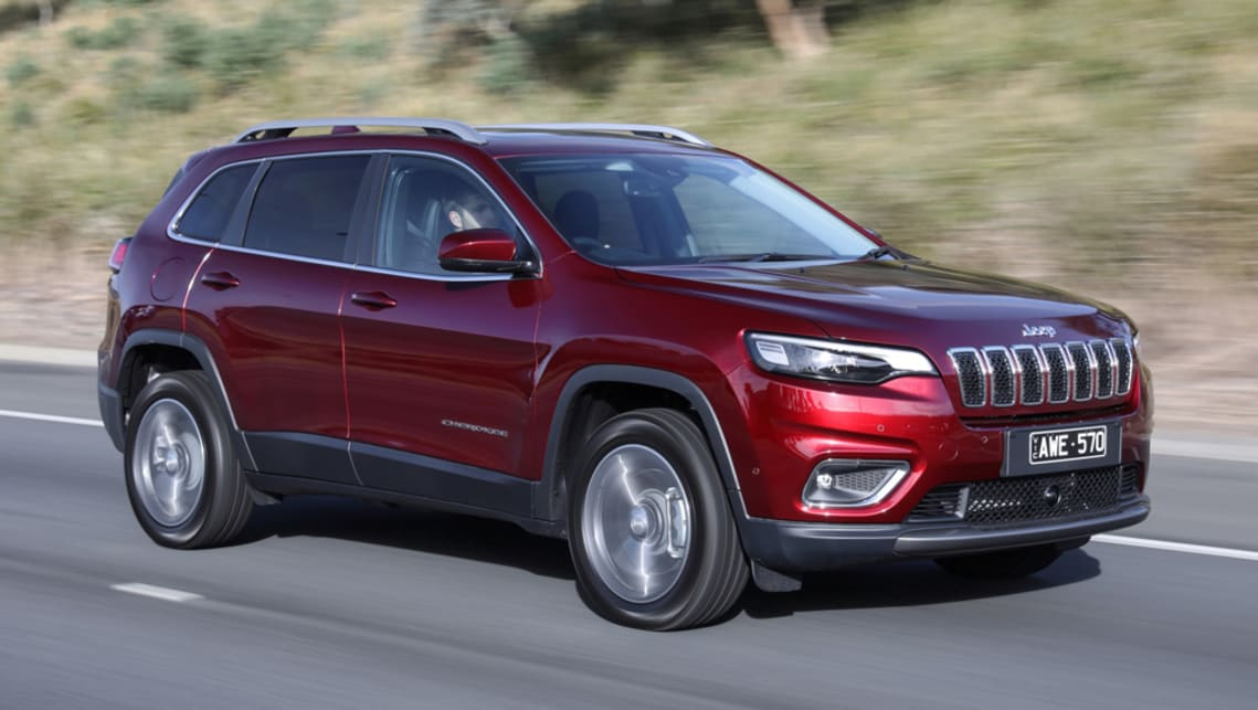 Jeep Cherokee 2018 Pricing And Spec Confirmed Car News Carsguide