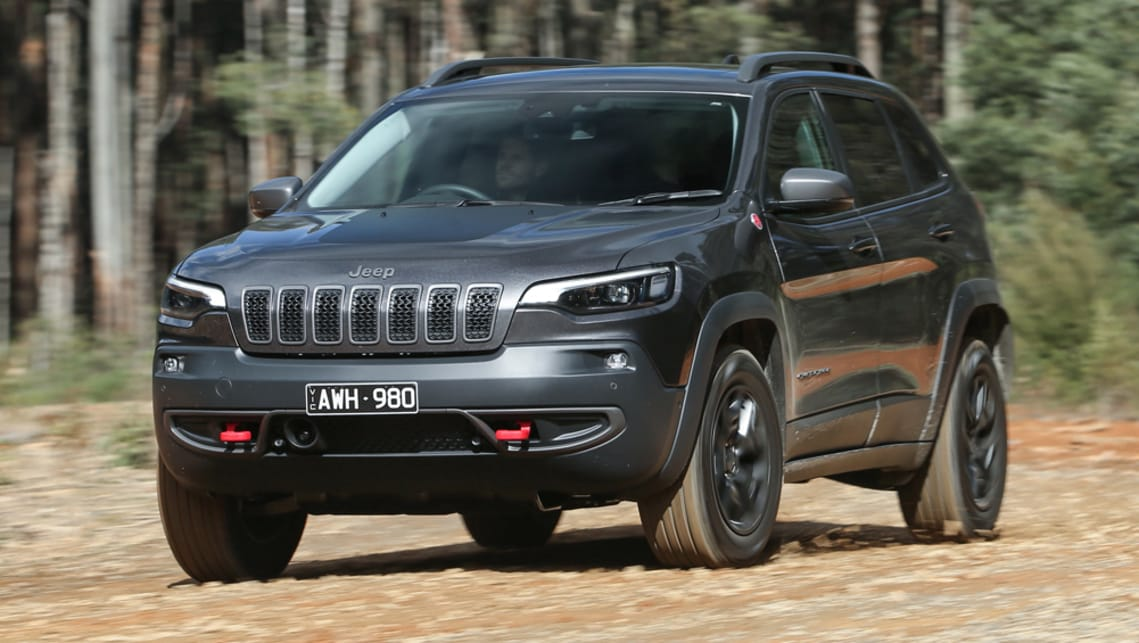 Jeep Cherokee Trailhawk 2019 review: snapshot