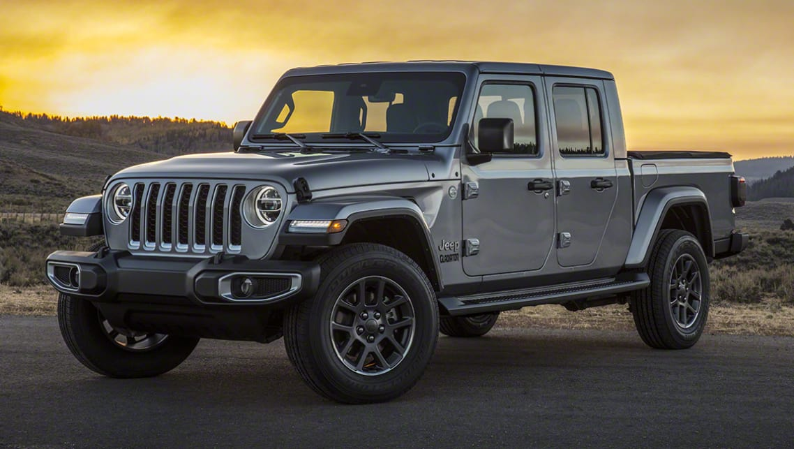 Jeep Gladiator 2020 revealed: Wrangler ute officially ...