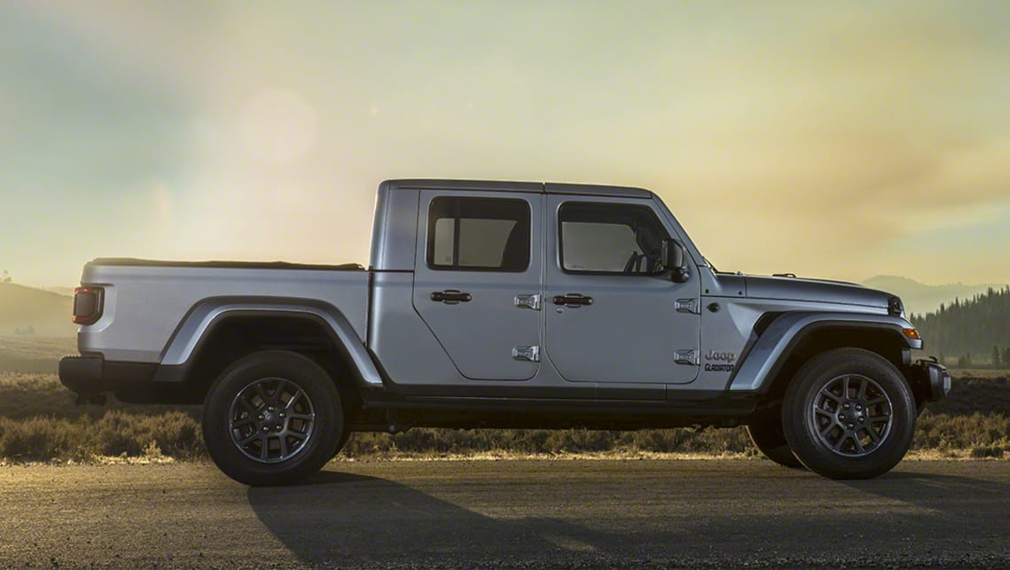 Jeep Gladiator 2020 revealed: Wrangler ute officially ...