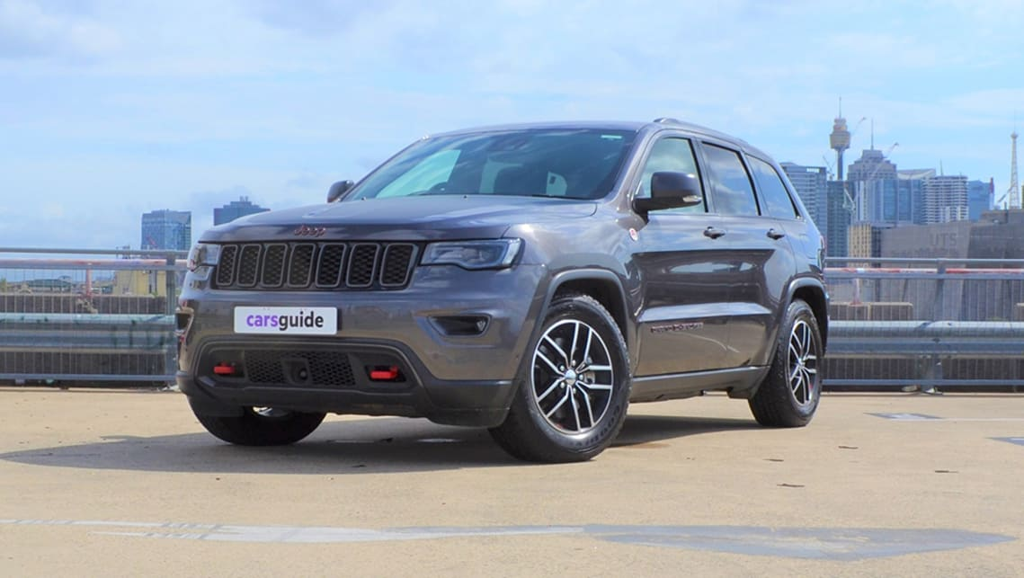 The Trailhawk is the most striking-looking of all Grand Cherokees.