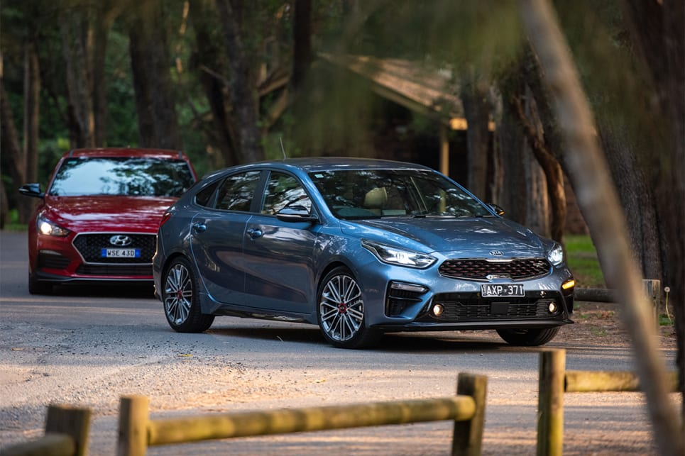The Cerato GT was outstanding among these four hatches in its agility, flat cornering, great grip and its accurate steering.