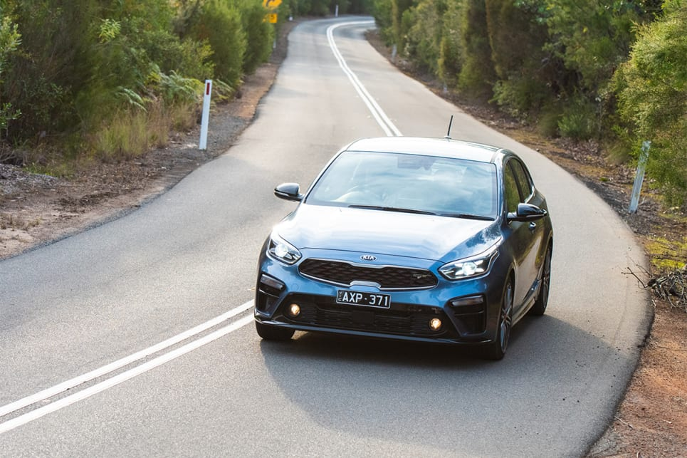 The Cerato GT feels rigid and handles impressively for this class, but is firmer and less comfortable than the rest.