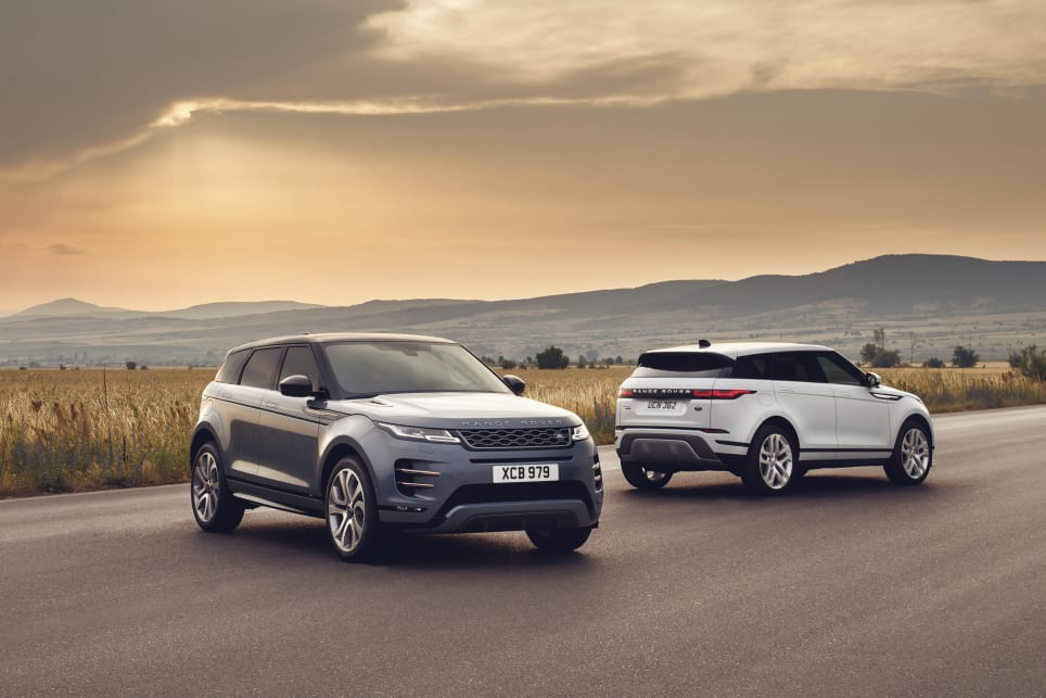 the new evoque manages to remain true to the original concept with a sleek design