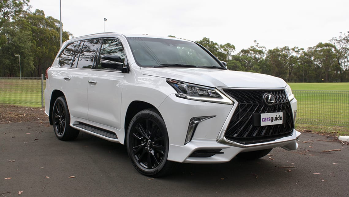 With a model-specific body kit and huge wheels, the Lexus LX570 S sits at the top of the range, ready to mow down anything that gets in its way.