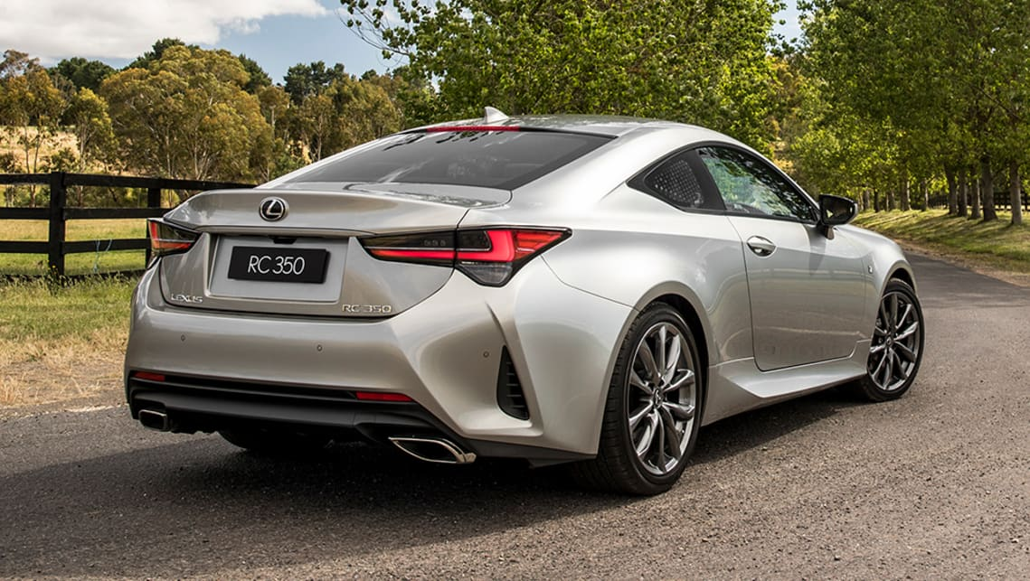 Lexus Rc Coupe 2019 Pricing And Spec Confirmed Car News Carsguide