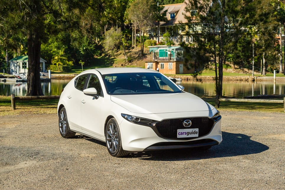 The Mazda3's elegant and smooth styling is stunning.