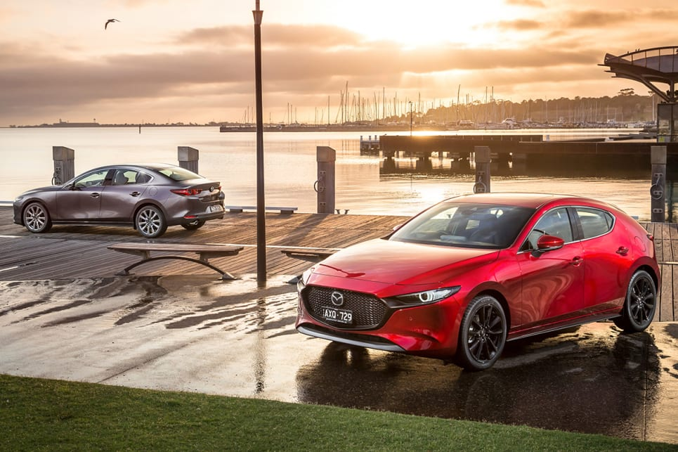 As with the hatch, Mazda3 sedan buyers have a choice of two engines.