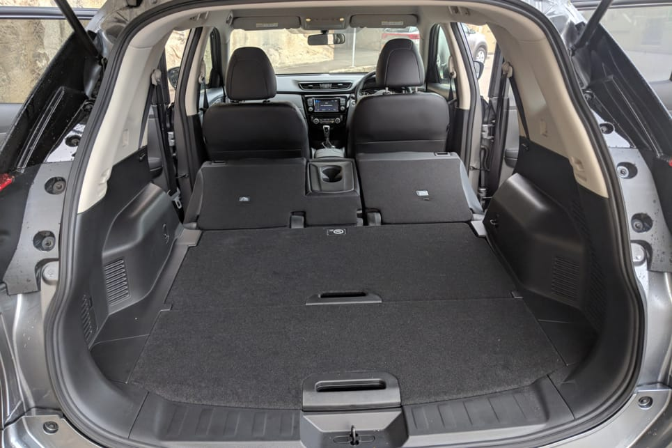 For those needing extra capacity, there's 945 litres of space available to use with the rear seats folded down.