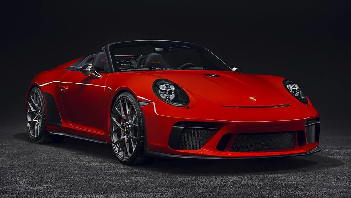 Porsche 911 Speedster 2019 confirmed - Car News | CarsGuide