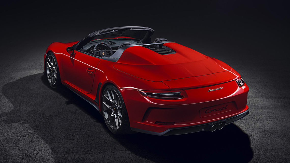 Porsche 911 Speedster 2019 Confirmed Car News Carsguide