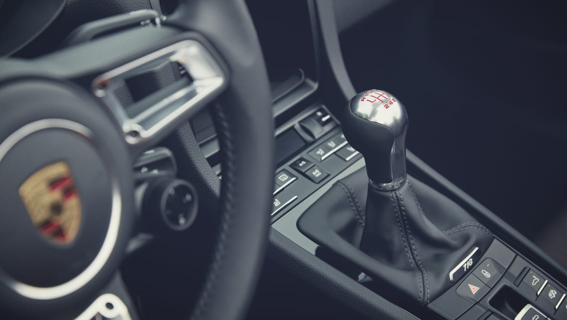 T models can be paired with either a six-speed manual or the seven-speed 'PDK' dual-clutch transmission.