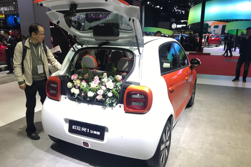 This is Great Wall Motor's city EV.