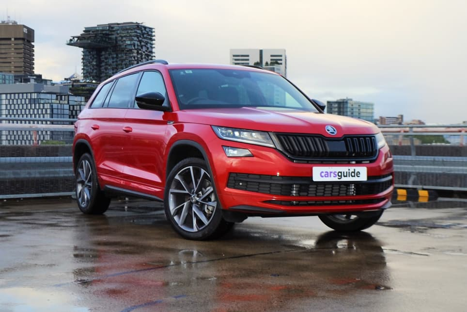 The Skoda Kodiaq is packed full of clever touches for family life.