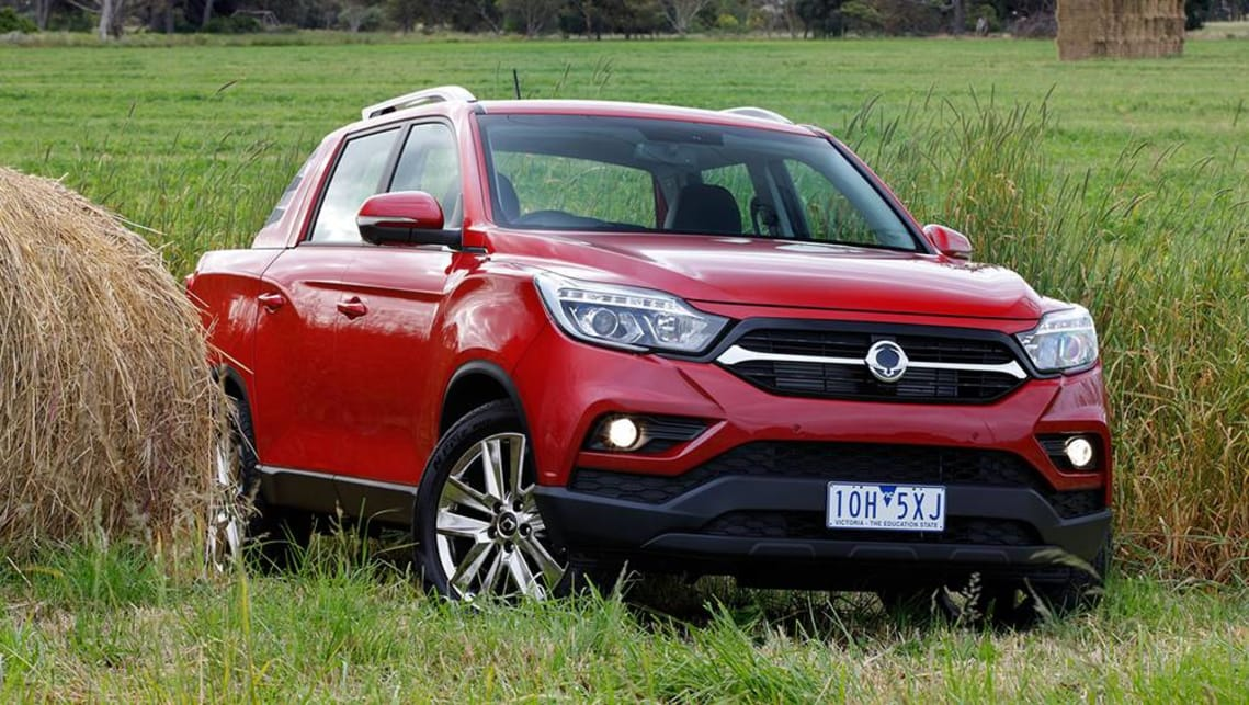 SsangYong Musso EX 2019 review: snapshot
