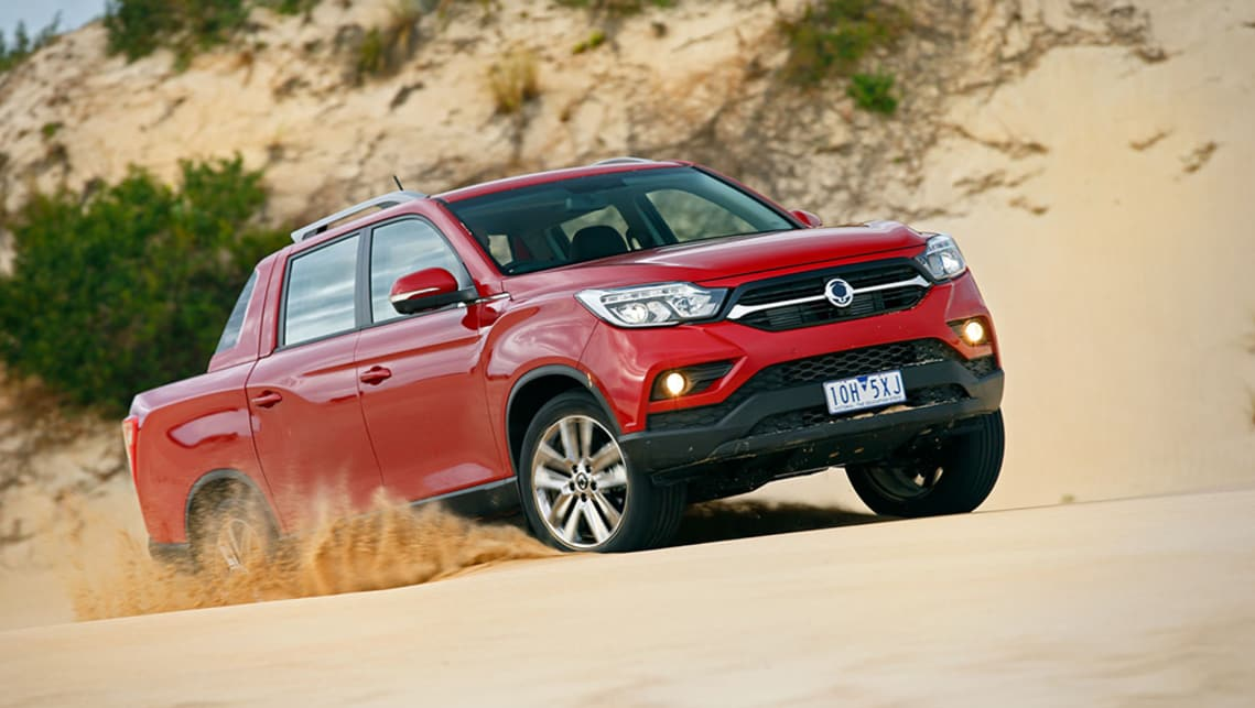 SsangYong Musso Ultimate 2019 review: snapshot