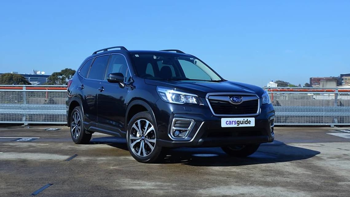 The Forester we are testing here is the fifth-generation model, which debuted in Australia in September 2018. (image credit: Richard Berry)