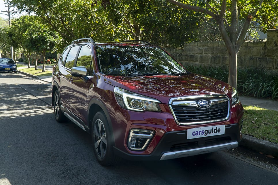 Subaru Forester 2 5i S 2019 Review Carsguide