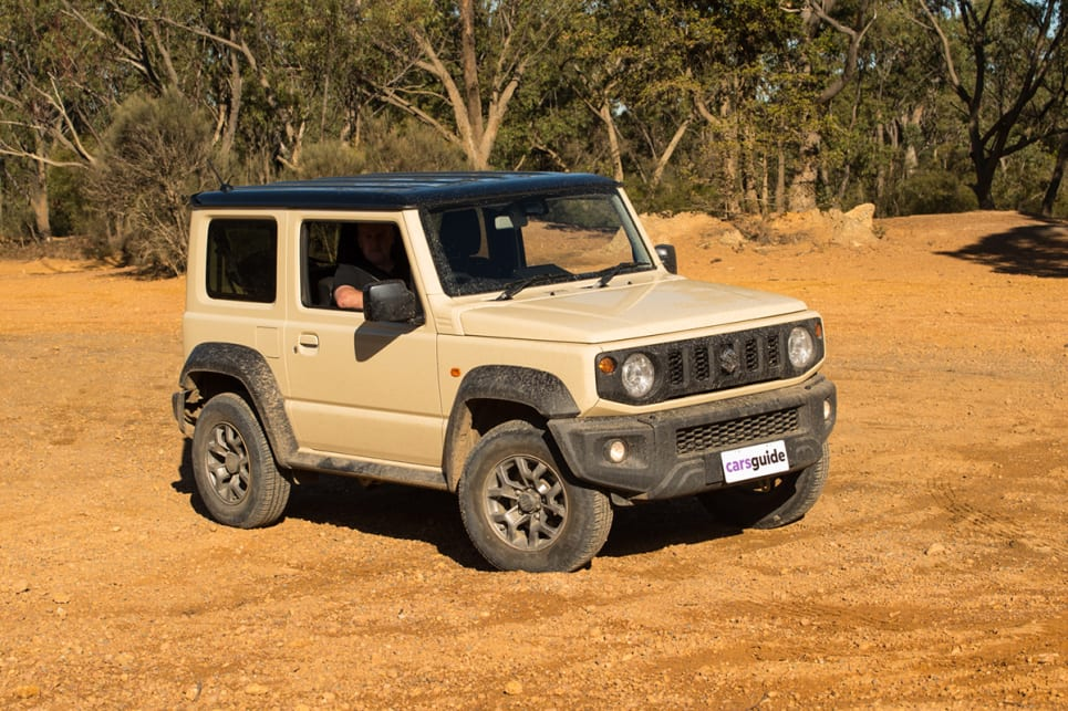 The Jimny is a cool-looking rig.