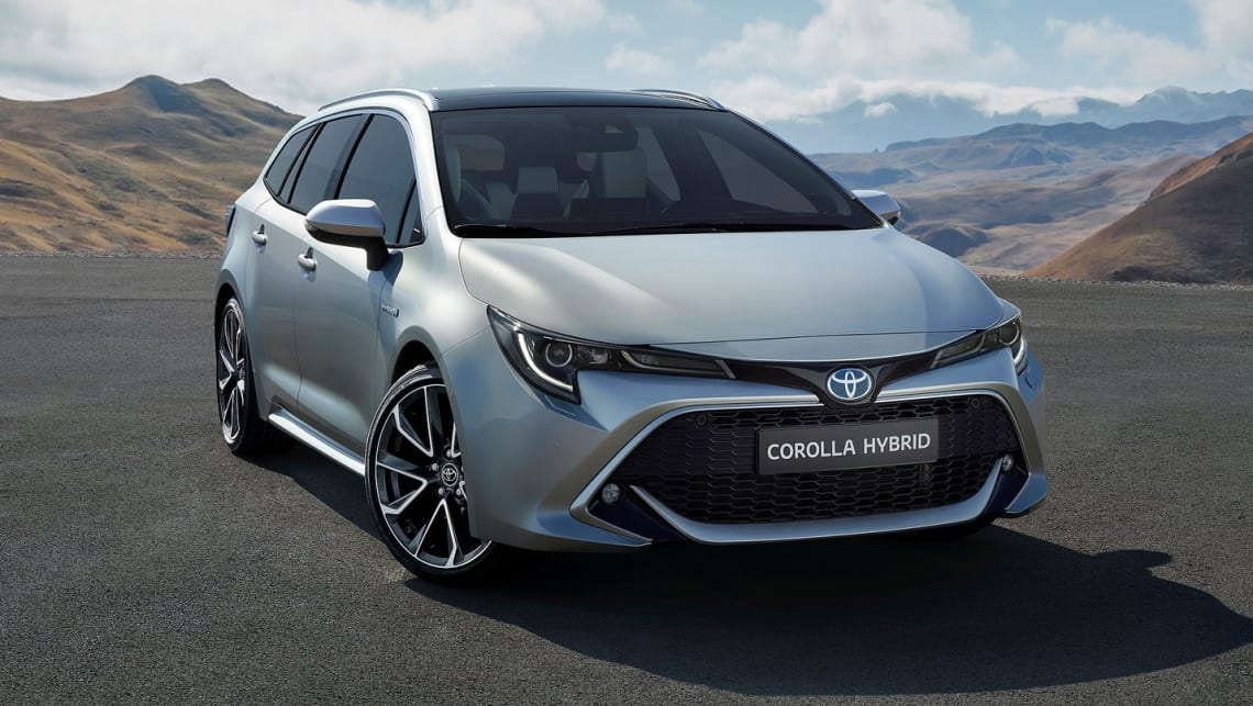 The new Corolla wagon has broken cover ahead of its Paris debut.