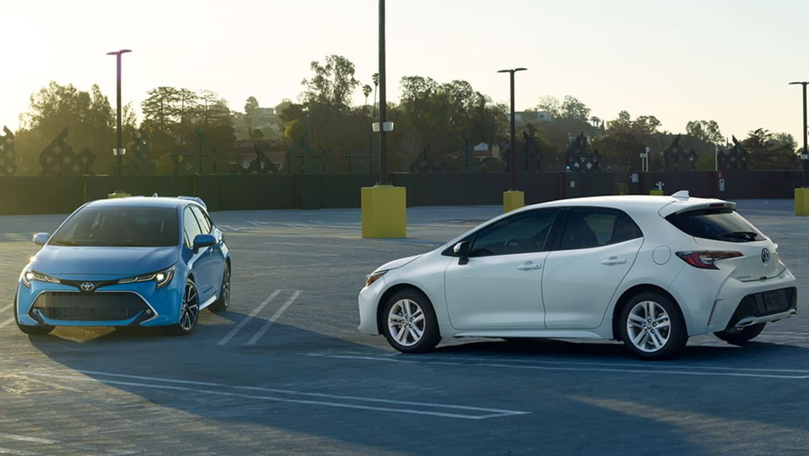 The 2019 Toyota Corolla Hatch Is New From The Ground Up.