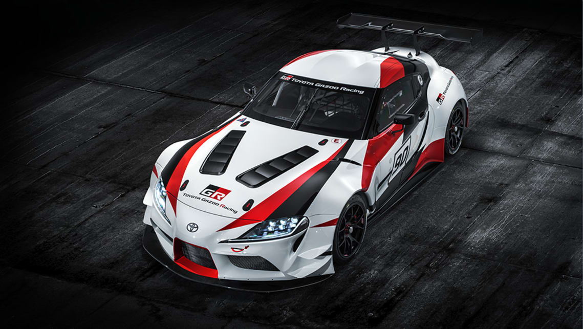 Toyota unveils race version of much-awaited Supra