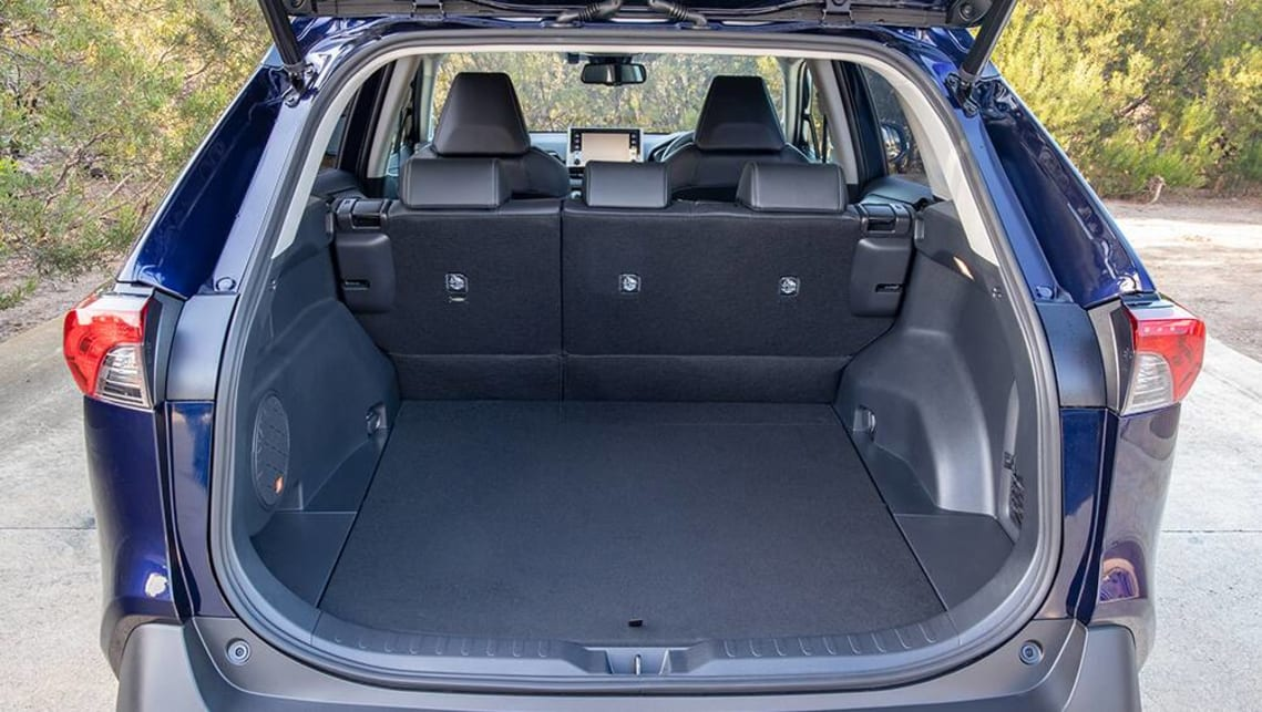 The boot size is now 580 litres, up 33L on the existing model, with the boot space dimensions extended by 65mm. (Cruiser variant pictured)