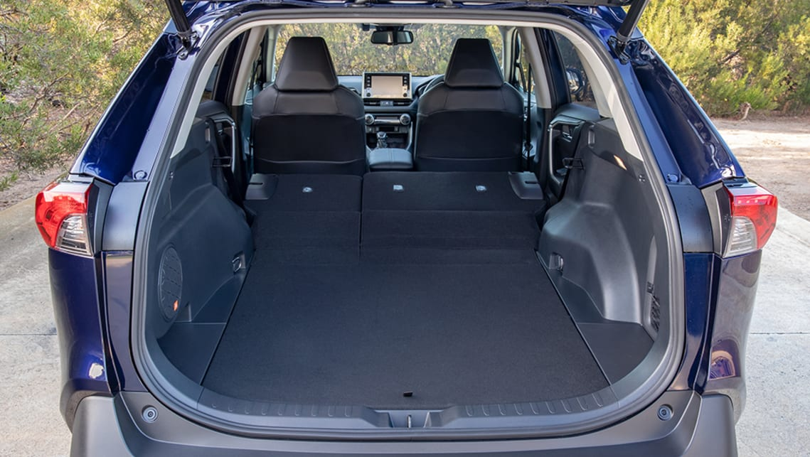 The boot also features a reversible liner for the dual-level boot floor setup, and there's a cargo cover for the storage space as well. (Cruiser variant pictured)