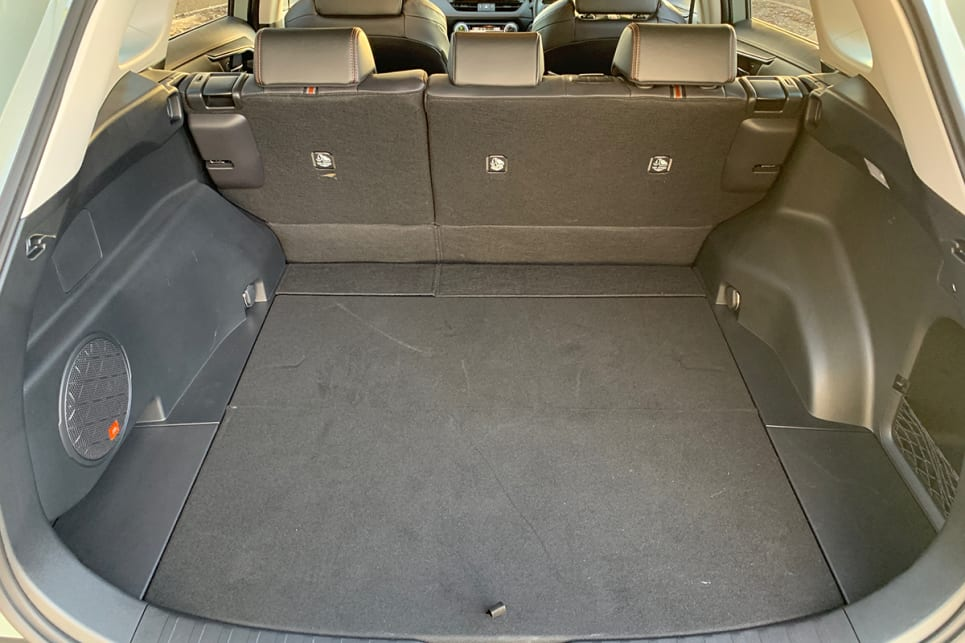 Boot space is better than before at 580 litres with the seats up. (image: Peter Anderson)