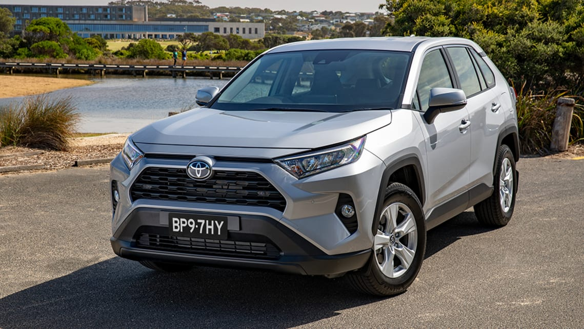The entry-level model in the 2019 Toyota RAV4 range is the GX model.