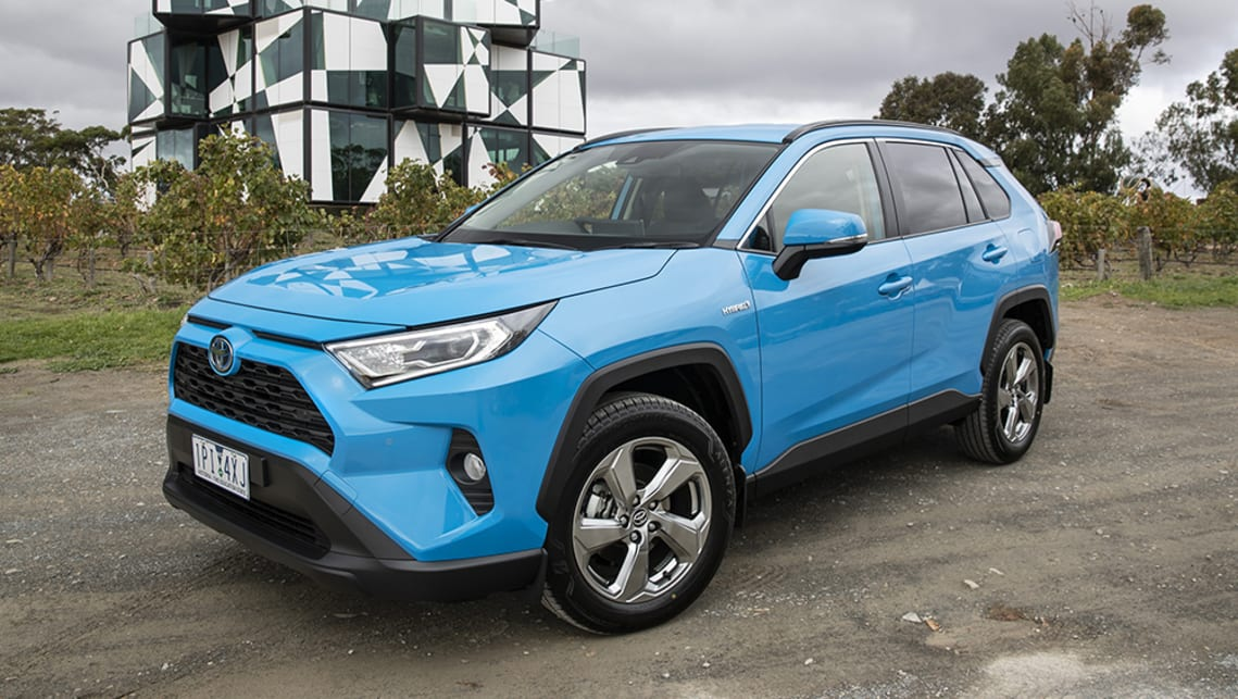 toyota rav4 hybrid 2019 review snapshot carsguide. Black Bedroom Furniture Sets. Home Design Ideas