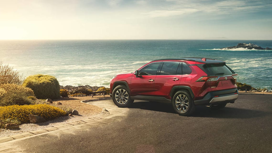 The new RAV4 is a dramatic departure from what we've seen from Toyota's SUV line to this point.