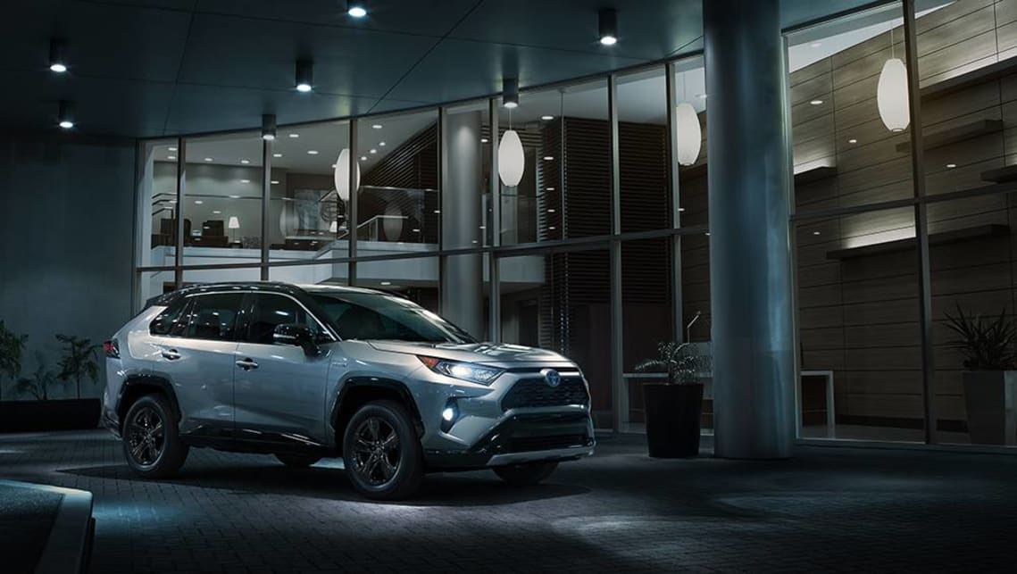 The new RAV4 isn't any bigger than the fourth-generation RAV4.