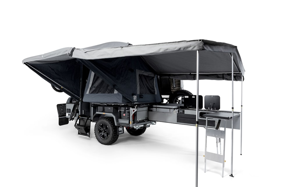 For 20 years Trackabout has been known as a tough-as-nails camper trailer builder. Its latest models are also incredibly innovative.