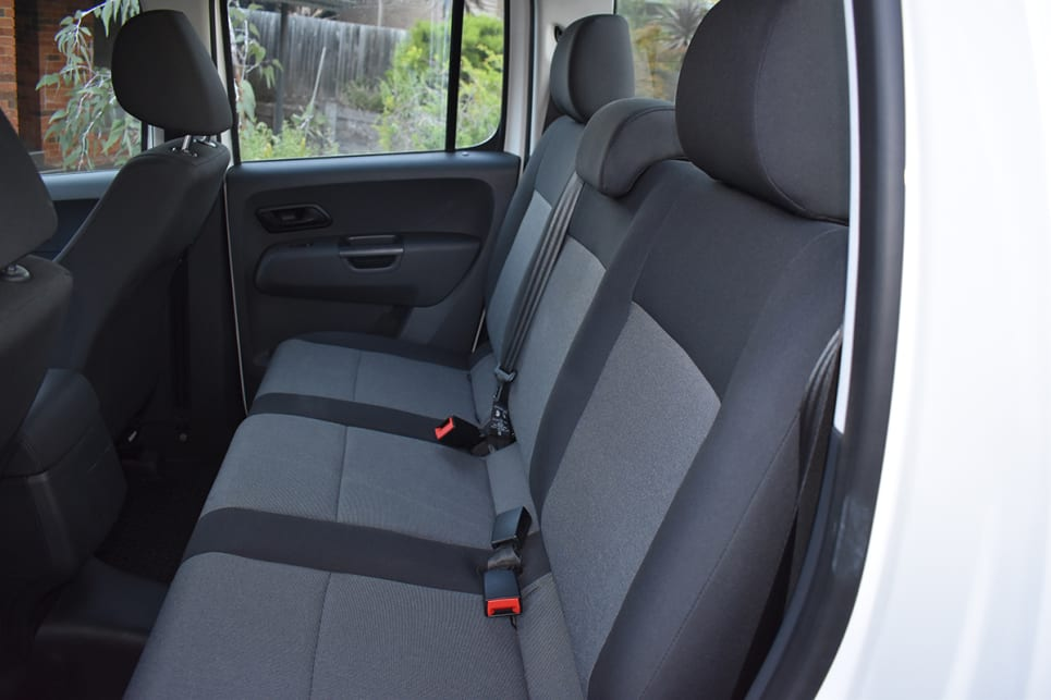 Those in the rear seat can feel cramped due to tighter entry and exit.