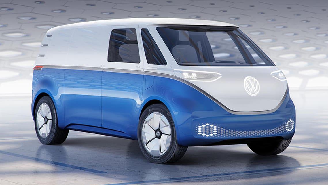 volkswagen id buzz cargo 2021 revealed