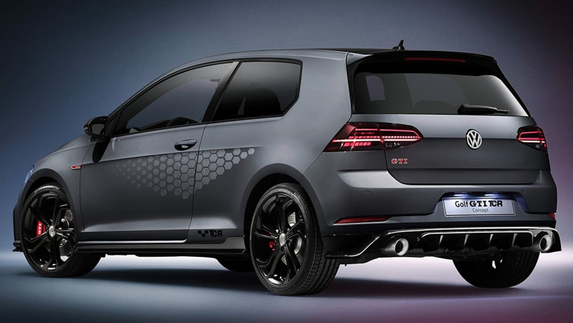 volkswagen golf gti tcr 2019 confirmed for australia car news carsguide
