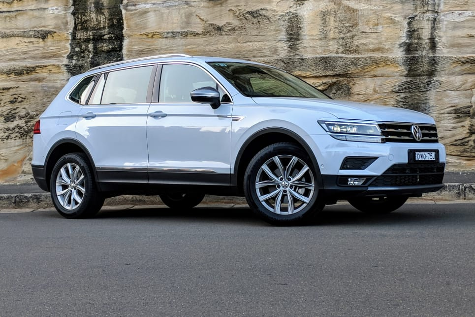 The Volkswagen Tiguan Allspace builds on the regular Tiguan's practicality with two extra seats and more bootspace.