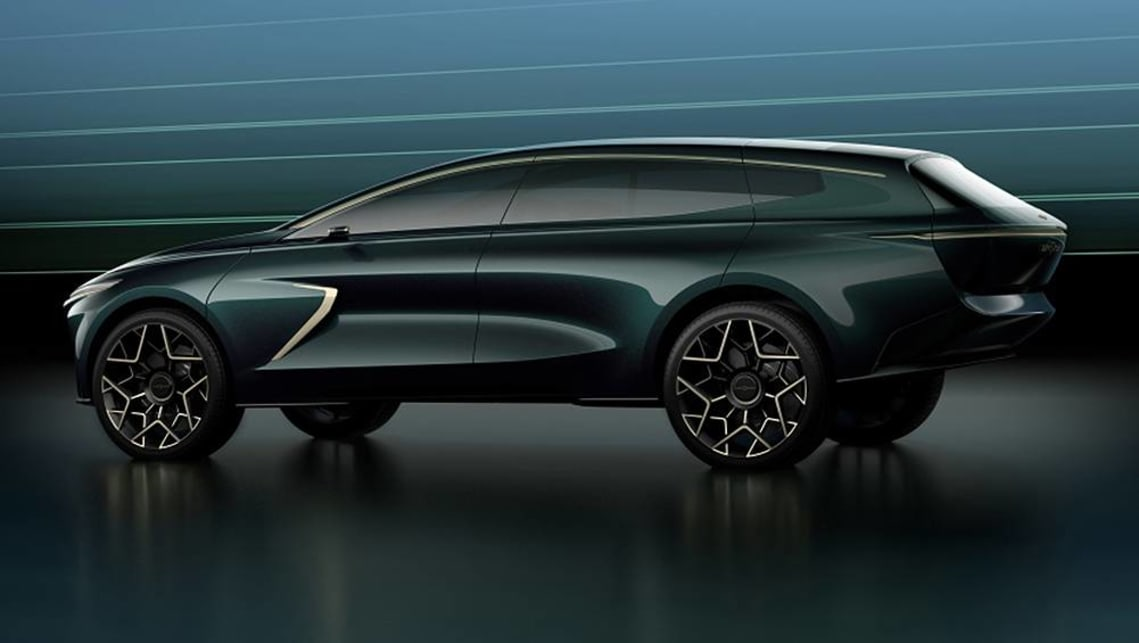 The Lagonda SUV will share elements with Aston Martin's upcoming DBX.