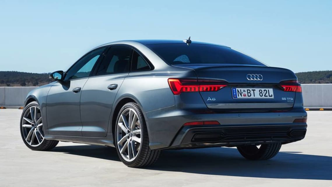 Audi's new-generation A6 large sedan will finally land in Australian showrooms from August.