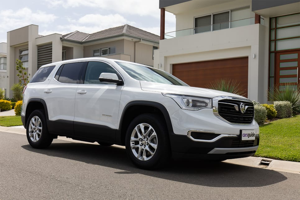 First impression of the Acadia is that it's big and looks it. (image credit: Dean McCartney)