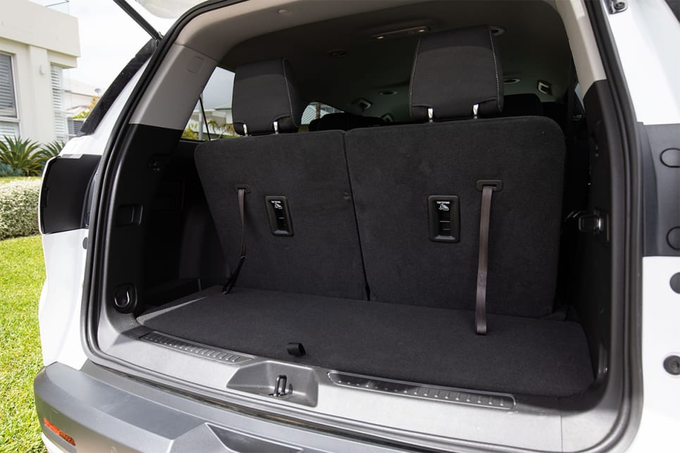 With all seats in use, there's 292L of boot space on offer. (image credit: Dean McCartney)