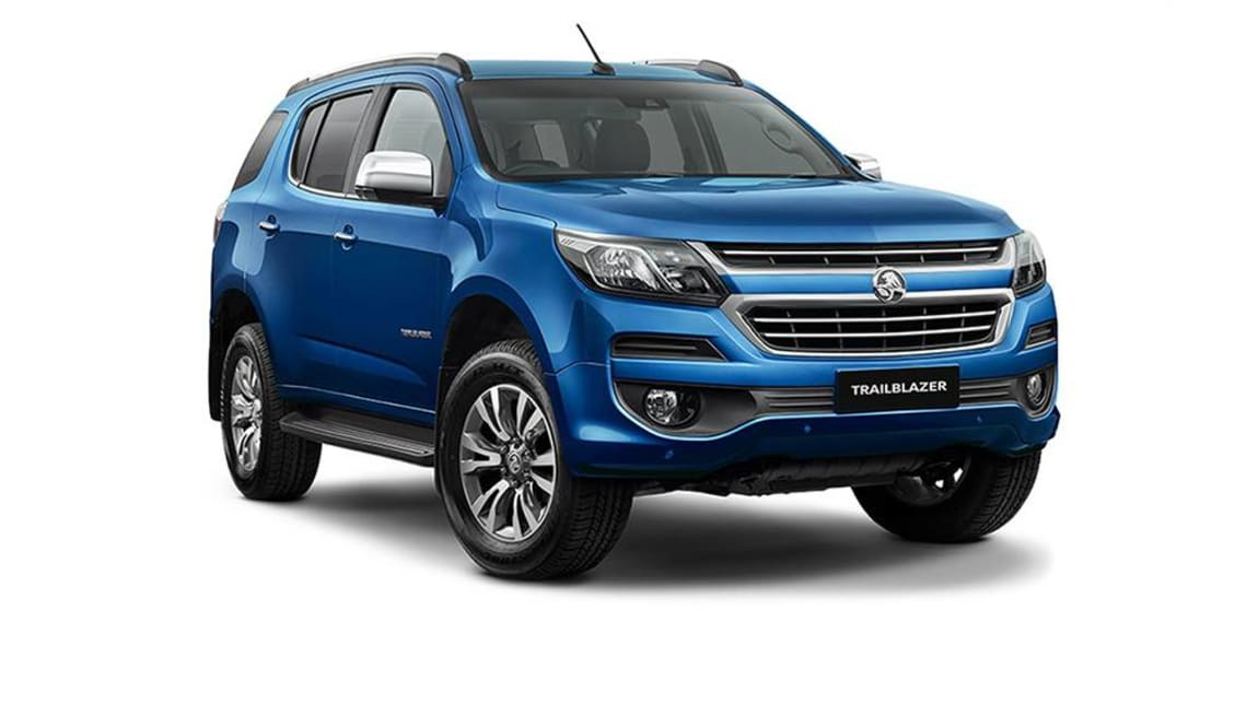 Holden offers a choice of two seven-seaters, including the rugged Trailblazer.