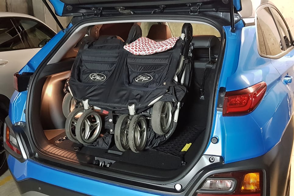 Myth busted: You can get away with two babies in a Kona.