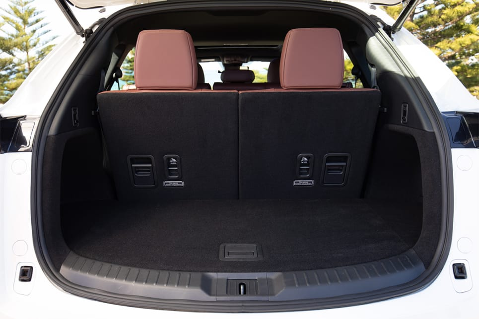 With all seven seats in use the boot is 230 litres. (image credit: Dean McCartney)