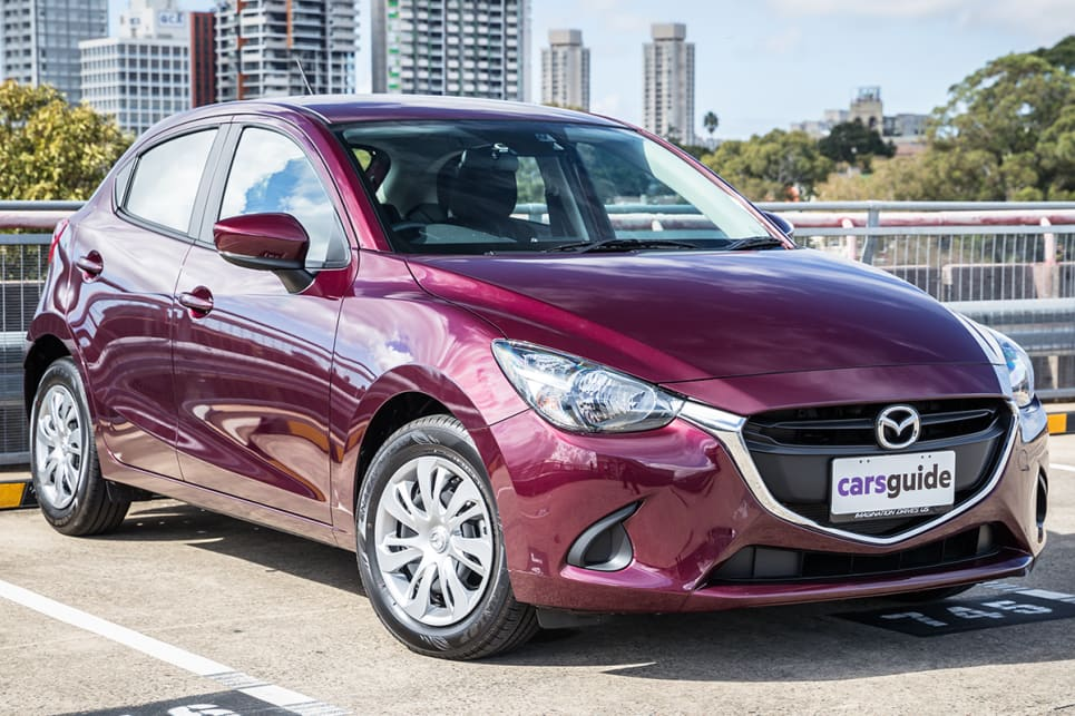 The Mazda2 is still a stylish little thing, even five years since launch.