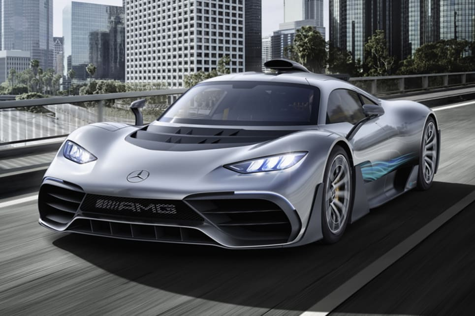 Mercedes Amg Project One 2019 Revealed In Frankfurt Car News