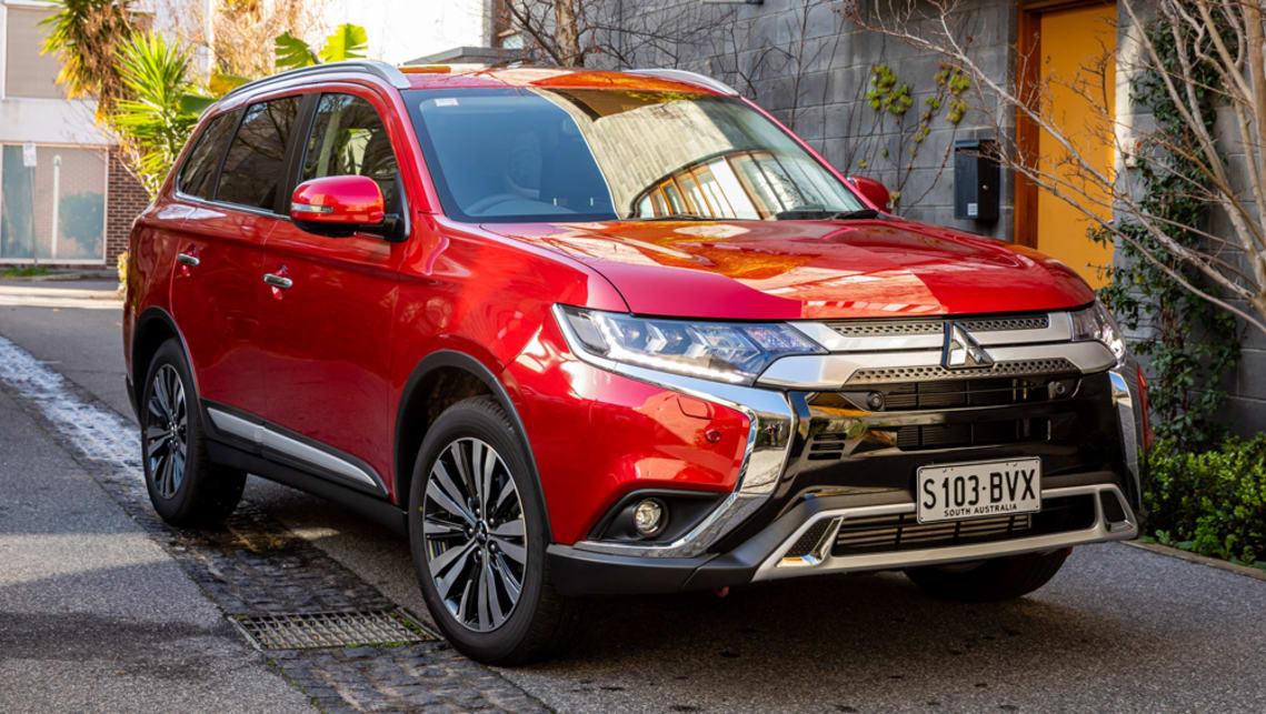 Mitsubishi range australia